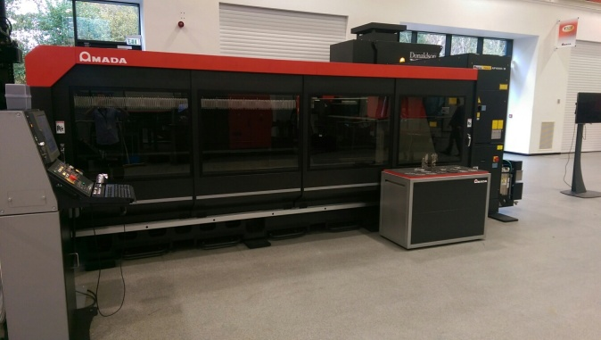 Freshlook use the advanced Amada CO2 FOII 3015 lasercutter
