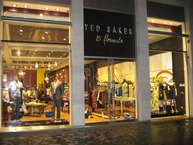 Freshlook Ted Baker shop front
