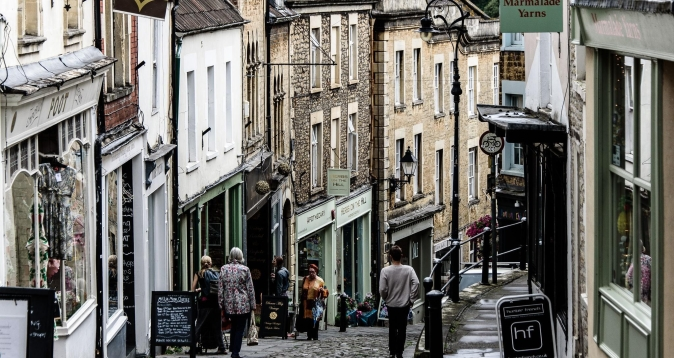 The town where it all began, Frome, South West England.