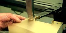 Amada folder, bending brass