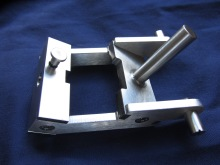 A small stainless component created on our CNC machines