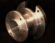 Freshlook-machinists-machined-stainless-rotary-component-CNC-manual-lathe-mill