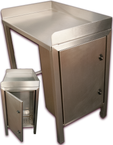 CNC-folded-TIG-welded-stainless-steel-bench